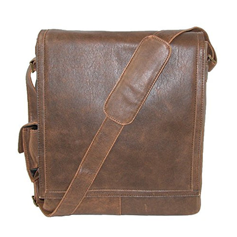 Hidesign By Scully Aerosquadron Messenger Laptop Messenger Bag,Antique Brown,One Size
