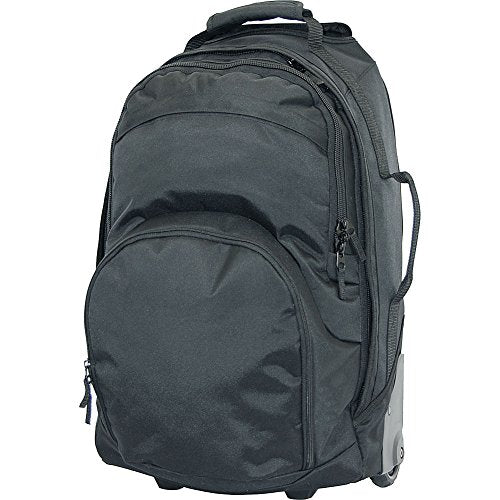 Netpack Multi-Pocket Wheel Bag (Black)