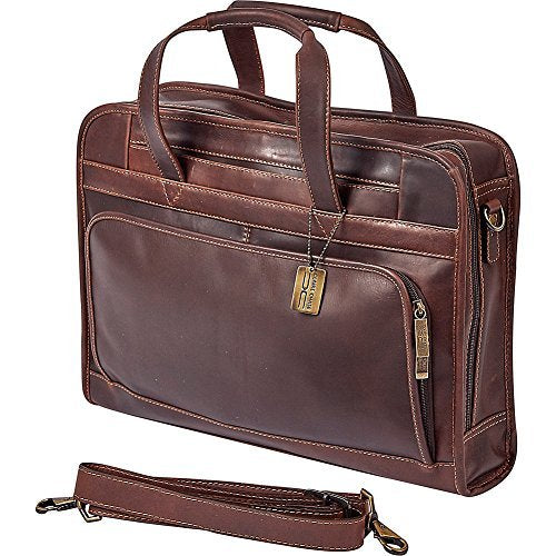 Claire Chase Legendary Professional Briefcase, Dark Brown, One Size
