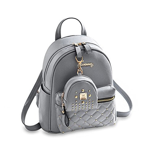 Cute Small Backpack Mini Purse Casual Daypacks Leather For Teen Girls And Women