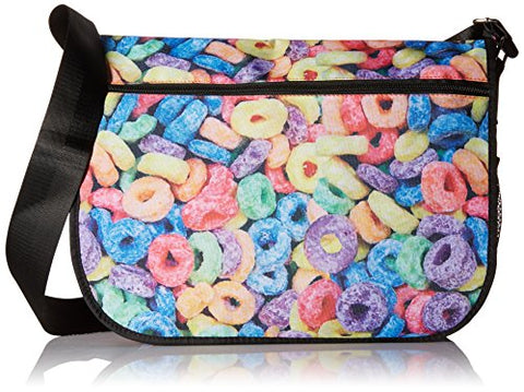 Sweetz-A-Riffic Cereal Loops Messenger Bag