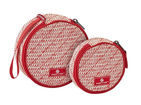 Eagle Creek Quilted Circlet, 2 Piece Set, Repeal Red