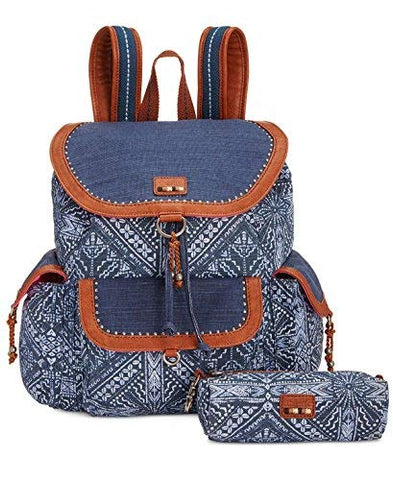 The Sak Pacifica Printed Flap Backpack
