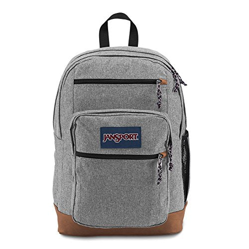 Jansport Js0A2Sdd3Cl Cool Student Backpack, Grey Letterman Poly