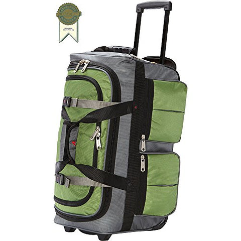 Athalon 22 Inch 15-Pocket Duffel, Grass Gray, One Size