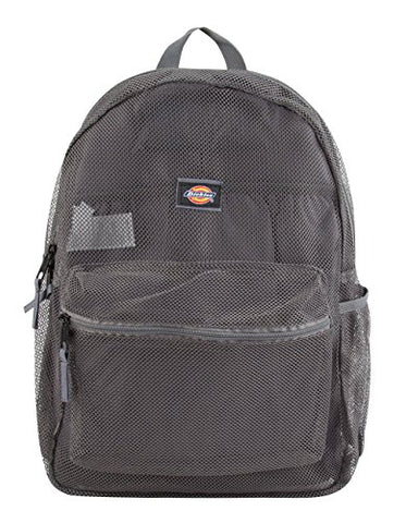 Dickies Mesh Backpack, Grey, One Size