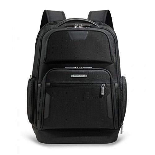 Briggs & Riley @Work Luggage Backpack, Black, One Size