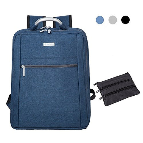 AsCrown SHAOLONG Nylon Waterproof 15.6 Inch Laptop Backpack - Blue