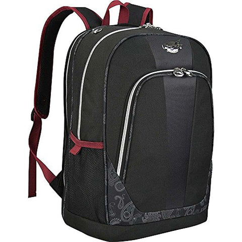 "Bret Michaels Classic Road 19"" Laptop Backpack in Black"