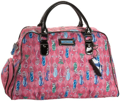 Sydney Love Golf Print Satchel,Multi,One Size