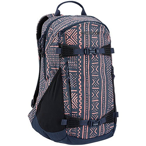 Burton Women's Day Hiker 25L Backpack, Mood Indigo Bambara Canvas