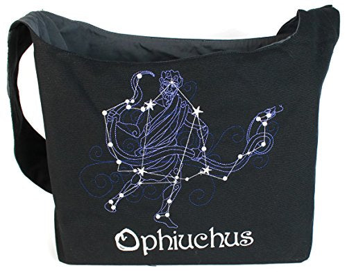 Dancing Participle Ophiuchus Embroidered Sling Bag