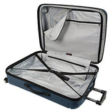 U.S Traveler Hytop Spinner 3-Piece Luggage Set - Navy