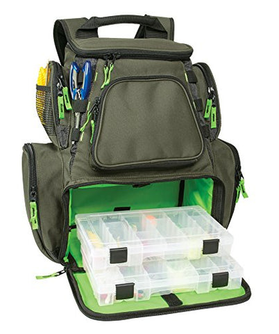 Wild River By Clc Wt3606 Multi-Tackle Large Backpack With Two 3600 Style Trays