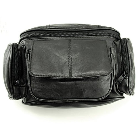 Enimay Genuine Leather Vintage Gym Chalk Bodybuilding Fanny Waist Pack LP560