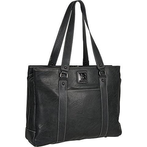 "Kenneth Cole Reaction Hit A Triple Compartment 15"" Laptop Business Tote"