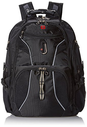 Swiss Gear Sa1923 Black Tsa Friendly Scansmart Laptop Backpack - Fits Most 15 Inch Laptops And