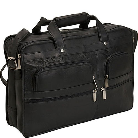 David King & Co. Organizer Brief, Black, One Size