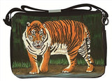 Bengal Tiger Messenger Bag- From My Painting, Emience