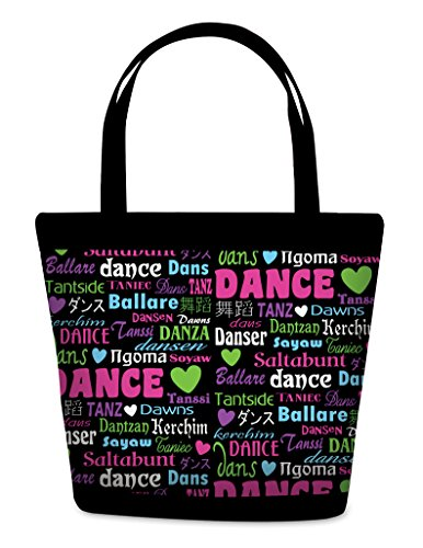 DansBagz by Danshuz Dance International Tote O/S MULTI