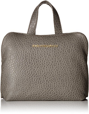 Buffalo David Bitton Men'S Pebble Grain Carry-All Weekender With Pull-Out Double Zip Clear Pouch,