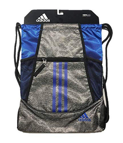 adidas Alliance Ii Sackpack, Onix Jersey/Collegiate Royal/Black, One Size