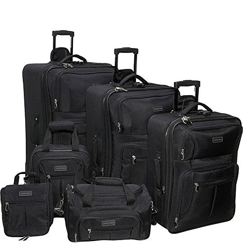 Geoffrey Beene Ebony 6 Piece Set, Black, One Size