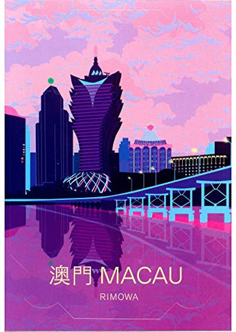 Rimowa Macau Country Sticker For Topas, Original, Salsa, Essential Series For Luggage And Carry