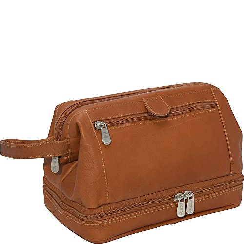 Piel Leather U Frame Utility Kit With Zip Bottom, Saddle, One Size