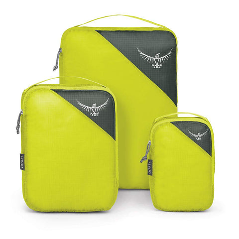 Osprey Packs UL Packing Cube Set, Electric Lime, One Size
