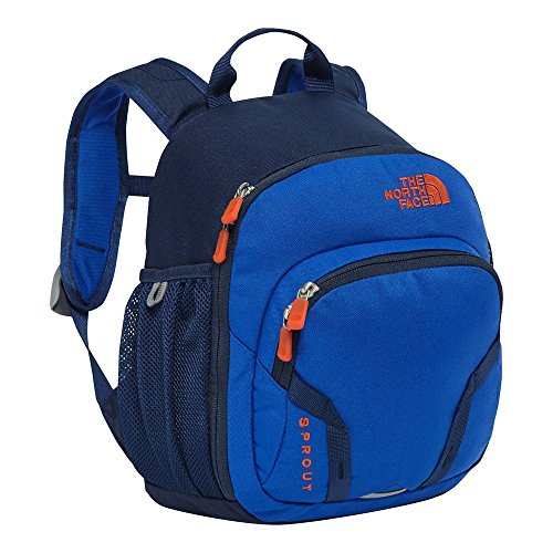 The North Face Youth Sprout Backpack Bright Cobalt Blue/Tibetan Orange (One Size)