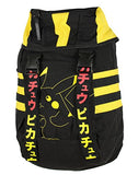 Nintendo Pokemon Pikachu Adult Black Yellow Knapsack Backpack