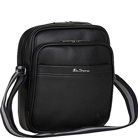 Ben Sherman Luggage Bowen Road Single Compartment Top Zip Casual Crossbody  Black One Size