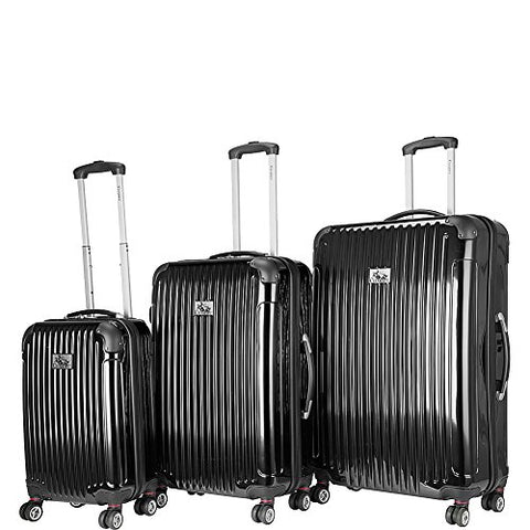 Chariot Paola 3-Piece Luggage Set Black