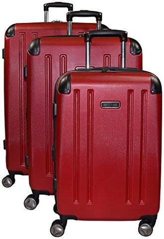 Kenneth Cole Reaction 8 Wheelin Expandable Luggage Spinner Wheeled Suitcase, 3 Pc Set , 29, 25 &