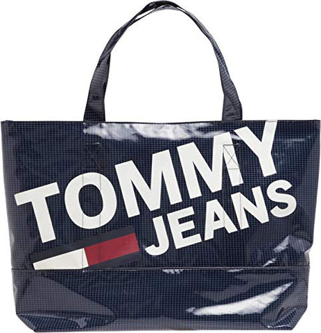 Tommy Jeans Summer Tote Womens Shopper Bag One Size Black Iris