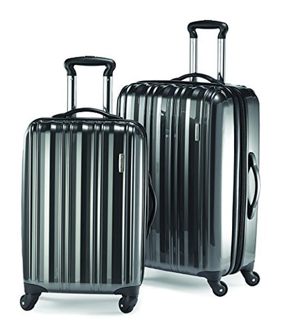 Samsonite Lightweight Two-Piece Hardside Spinner Set (Spinner 20/Spinner 24), Silver, One Size