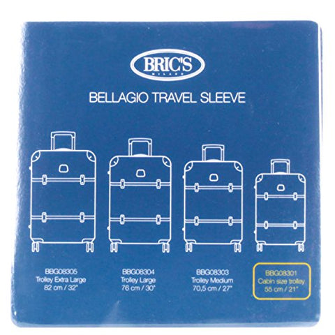 "Bric's USA Luggage Model: COVER_BELLAGIO |Size: transparent cover BBG 21"" recessed spinner 