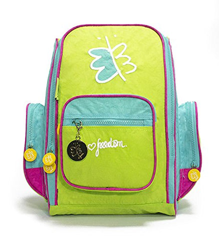 Biglove Small Kids Backpack Freedom, Multi-Colored, One Size