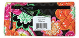 Vera Bradley Trifold Wallet (Ziggy Zinnia with Pink Interiors)