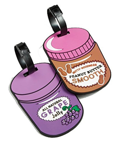 Betsey Johnson Luggage Tags Peanut Butter And Jelly