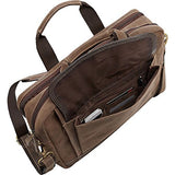 Bellino Tuscany Computer Leather Case, Briefcase Bag, Brown