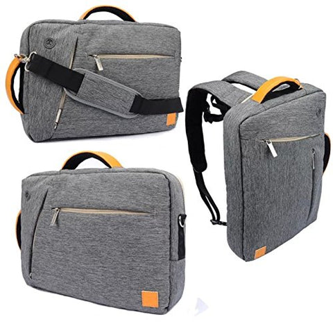 Vangoddy 3 In 1 Shoulder Bag Backpack And Messenger Bag For Dell Venue 5000 7000 / Venue Pro 10.1''