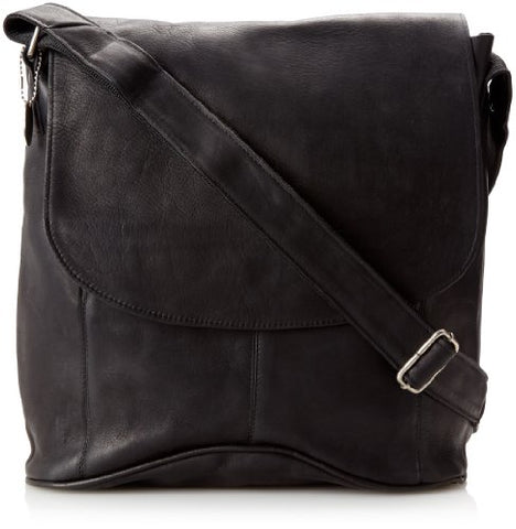 David King & Co. Messenger Bag, Black, One Size