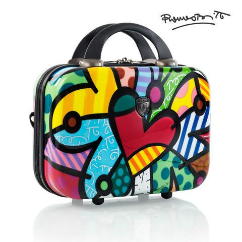 Heys America Britto Carnival Beauty Case (Multi -Britto Butterfly Love)