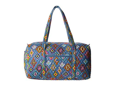 Vera Bradley Luggage Women's Large Duffel Painted Medallions Duffel