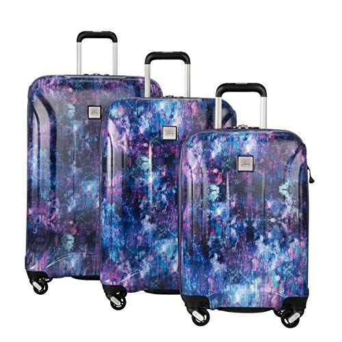 Skyway Nimbus 3.0 3-Piece Luggage Set in Cosmos Purple with FREE Travel Kit
