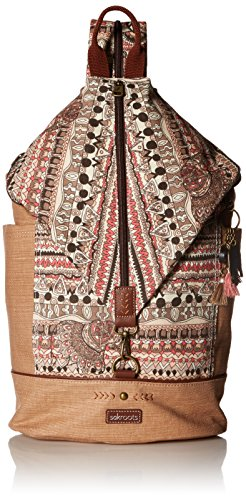 Sakroots City Backpack, Sand One World , One Size