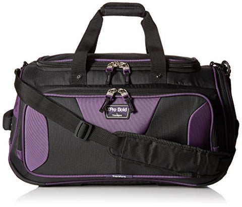 Travelpro Tpro Bold 20 - Inchsoft Duffel Bag, Black/Purple