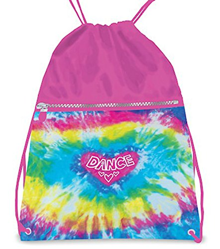 Love Tie Dye Drawstring Backpack (Love Tie Dye)